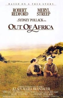 Out of Africa (1985) ........ ........ ........  #58 Best Picture Oscar Winner