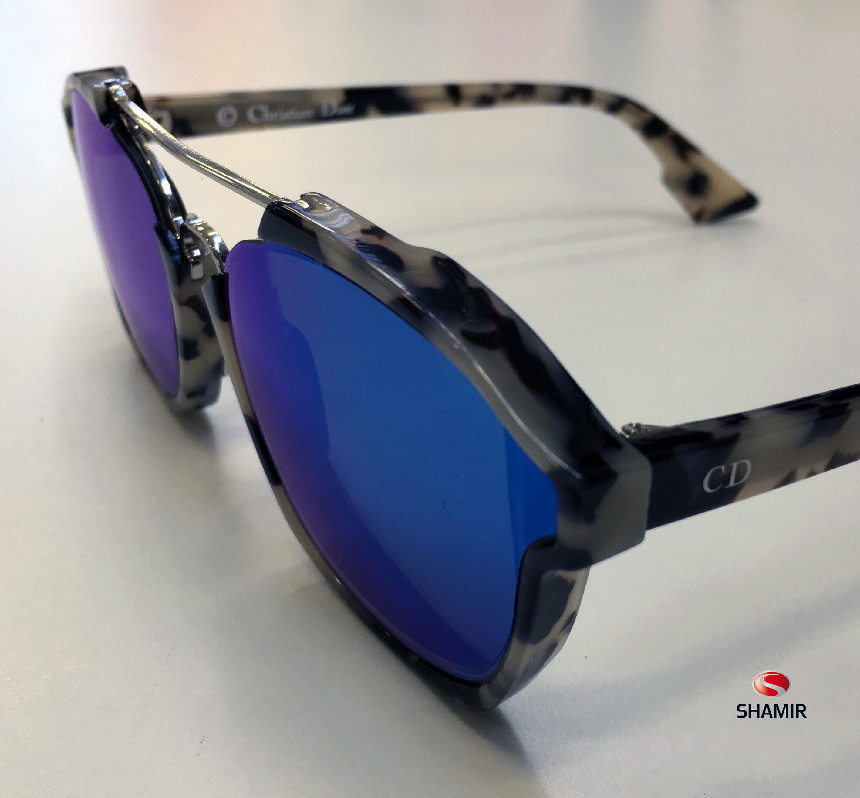 Nuovo montaggio speciale   occhiale Christian Dior realizzato presso i  laboratori Shamir Rx Italia. 581b8deed9
