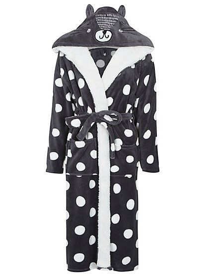 Cat Ear Dressing Gown Read Reviews And Buy Online At George At