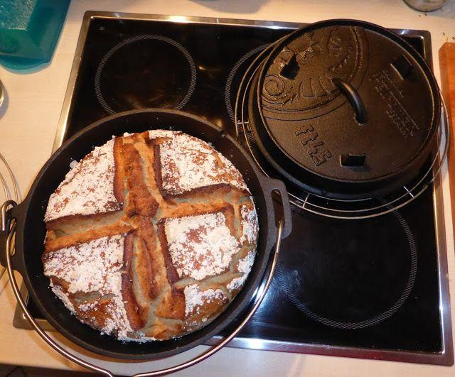 Chilihead Icewolf77: Roggenmischbrot aus dem Dutch Oven