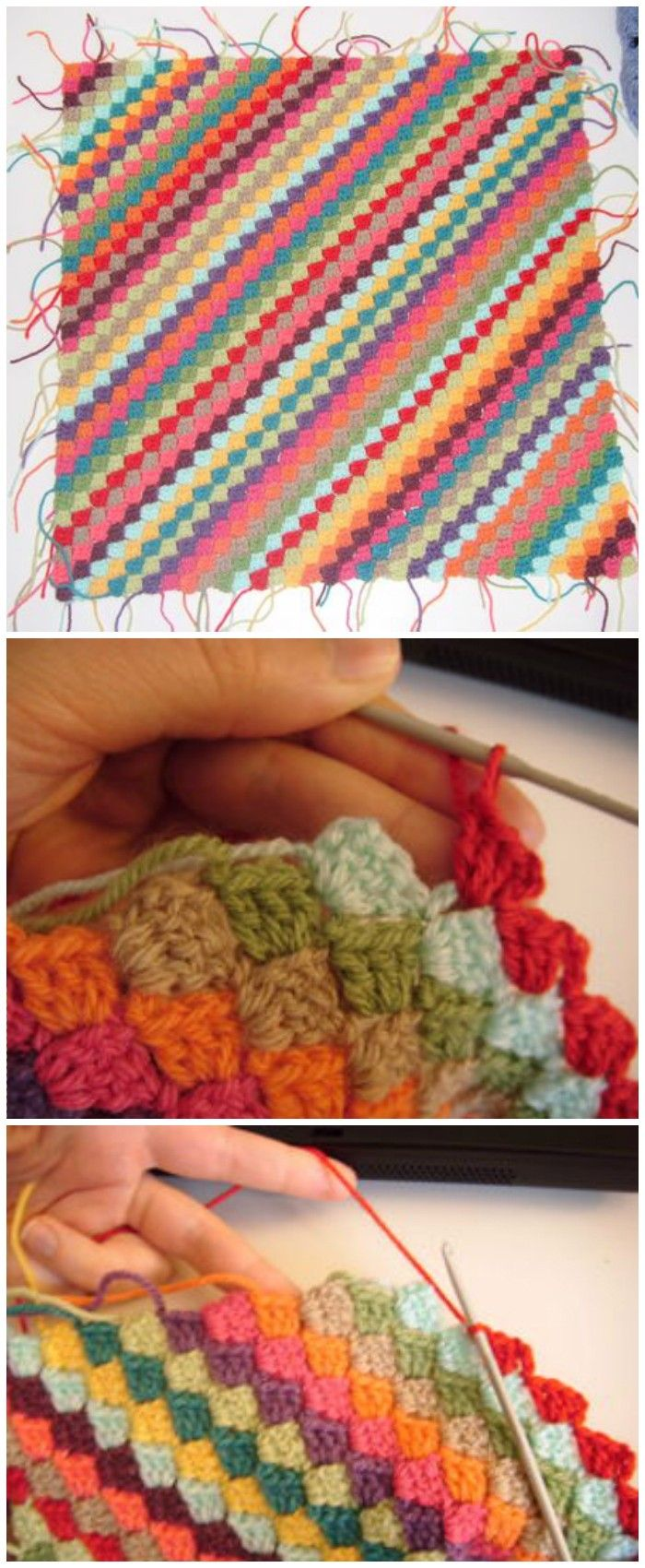 These highly special free corner-to-corner crochet blanket patterns ...