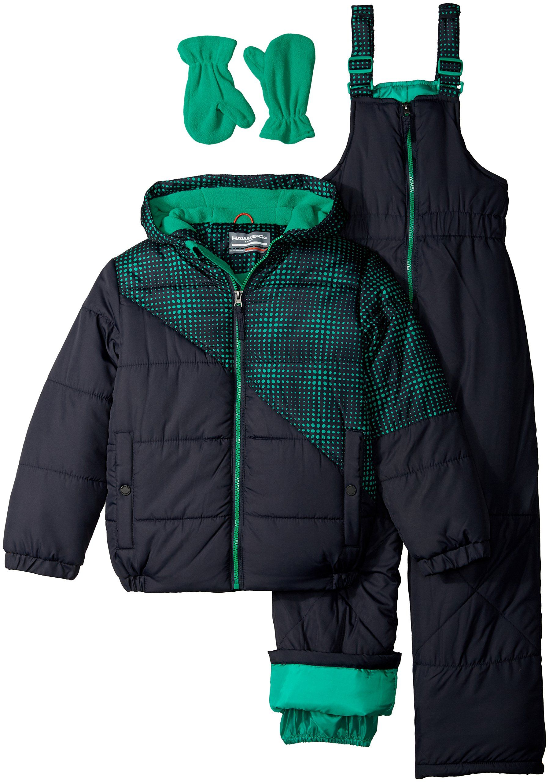 743e88bf60b6 Hawke   Co. Little Boys  Toddler 2 Piece Snow Suit with Optic Dot ...