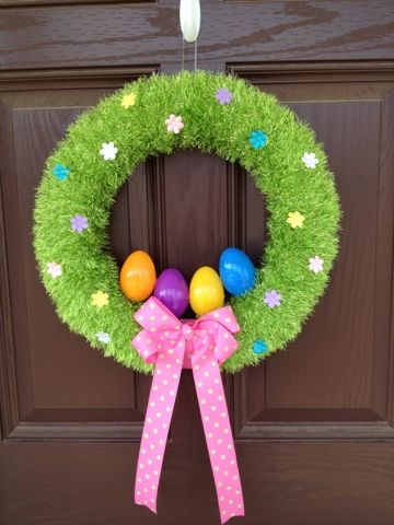 Photo of My Easter Wreath