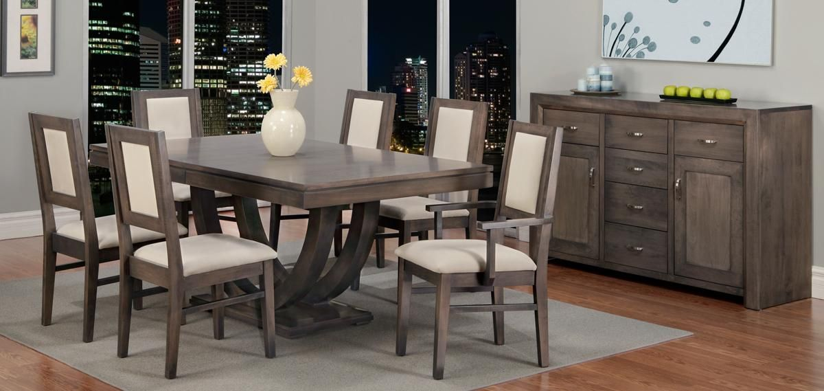 Heritage Maple Wood Made In Canada Available At Myhome Furniture Dining Furniture Family Furniture Furniture Dining