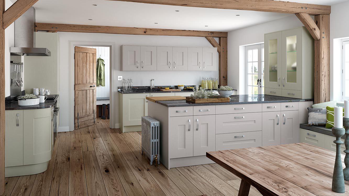 Shaker Style Kitchen Traditional Style Kitchen Elan