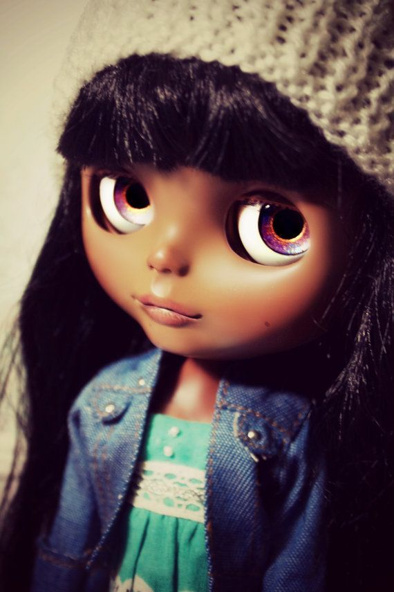 ... Anandi OOAK Beautiful Brown Blythe by MyDeliciousBliss, $316.00