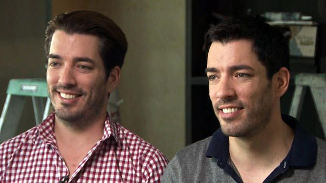 """Property Brothers"" Drew and Jonathan Scott on sibling rivalry - Videos - CBS News"
