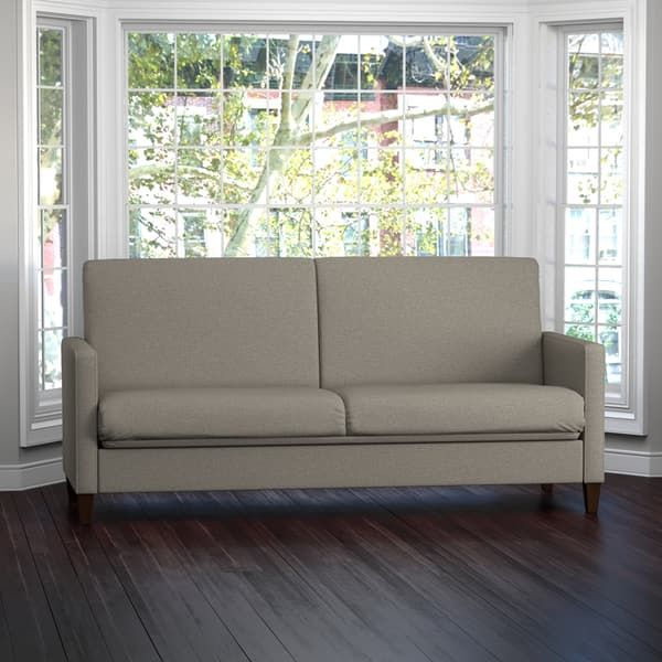 Handy Living Samuel Taupe Linen Convert A Couch Futon Sleeper Sofa | For  The Home | Pinterest | Sleeper Sofas, Taupe And Linens