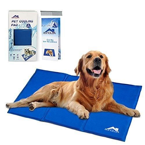 Whalek Cooling Mat Pressure Activated Chilly Dog Cat Bed 35 5 X