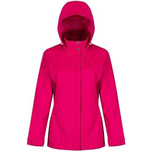 e49dc559f Regatta Great Outdoors Womens/Ladies Daysha Showerproof Shell Jacket (6 US)  (Atlantis