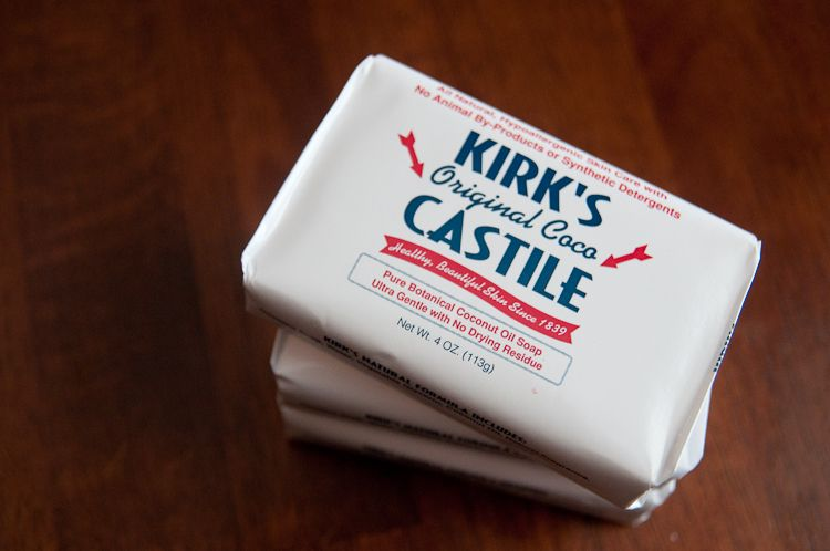 tutorial for turning solid Castile bar soap into liquid Castile soap~ comes out cheaper :)