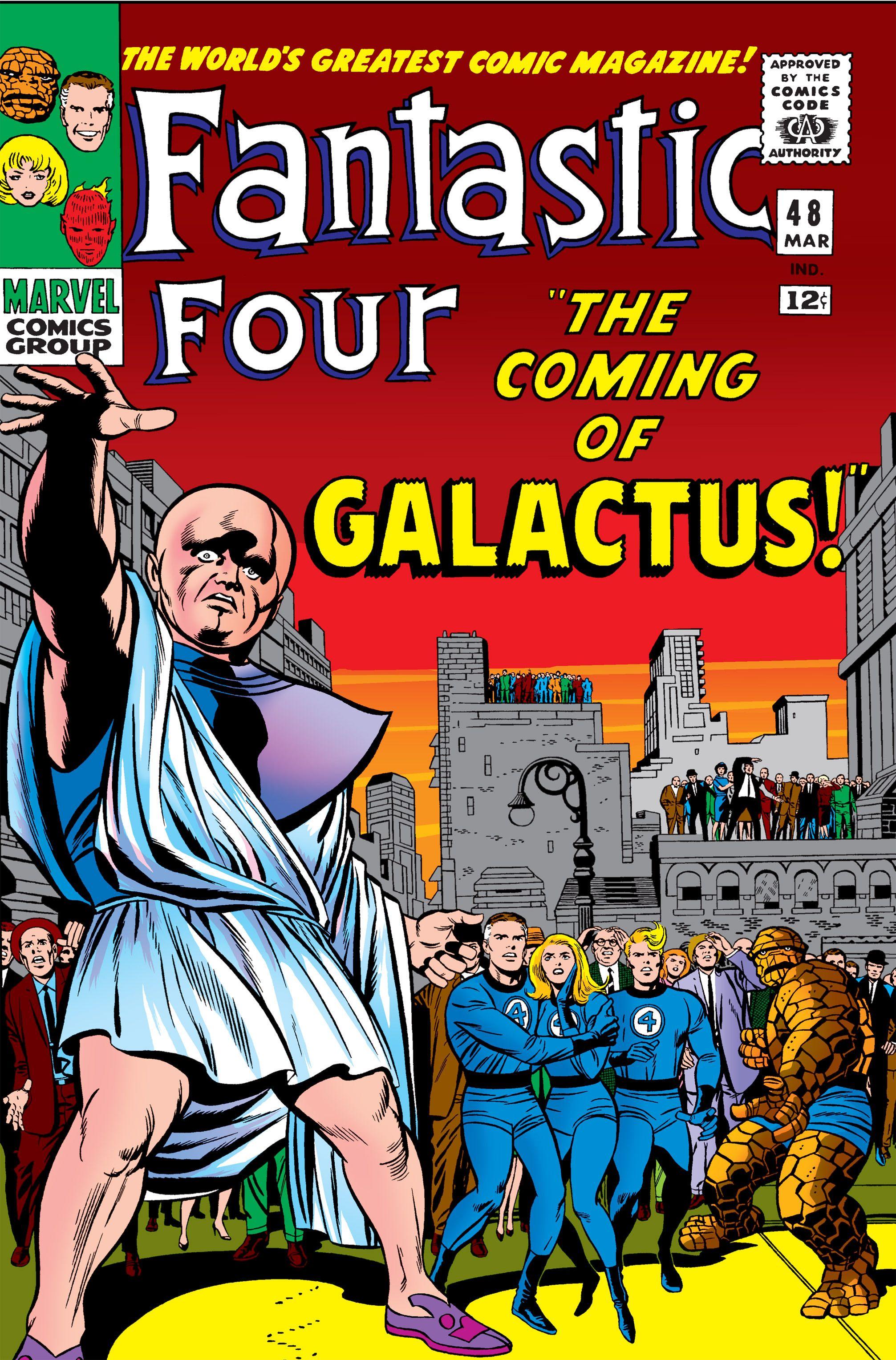Fantastic Four 1961 Issue 48 Read Fantastic Four 1961 Issue 48 Comic Online In High Qua Fantastic Four Comics Marvel Comic Books Silver Age Comic Books