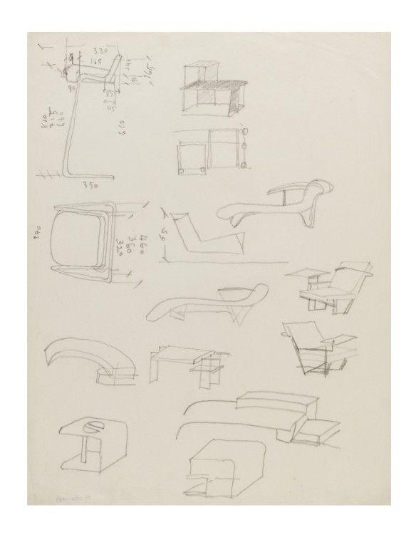 eileen gray sketches - Cerca con Google