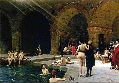 Gerome, Jean Leon (1824-1904) - The Baths in Bursa