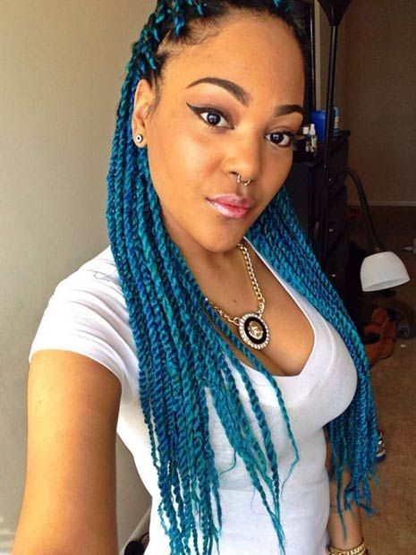 29 Senegalese Twist Hairstyles for Black Women  Nature Twists