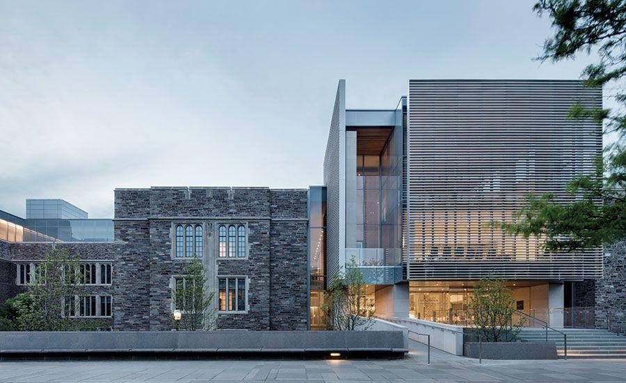 Princeton University Economics And International Programs Building By KPMB  Architects