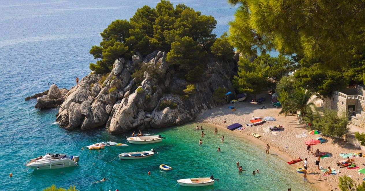 Благодатный август в Хорватии наиболее комфортен для морских купаний