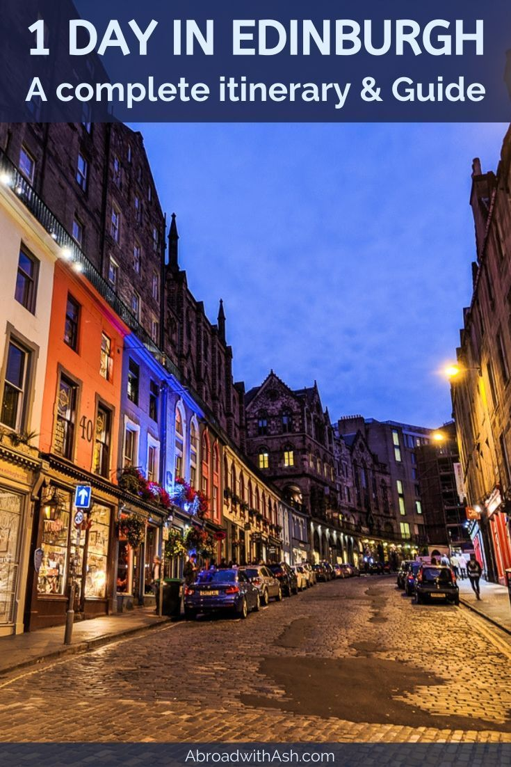 If you only have one day in Edinburgh make sure you read this post! This itinerary & guide takes you to all the must visit Edinburgh sights. Discover where to go and what order to do it in to make the most of your time. #edinburgh #edinburghscotland #edinburghitinerary #onedayinedinburgh #1dayinedinburgh #edinburghguide #edinburghblog #scotland