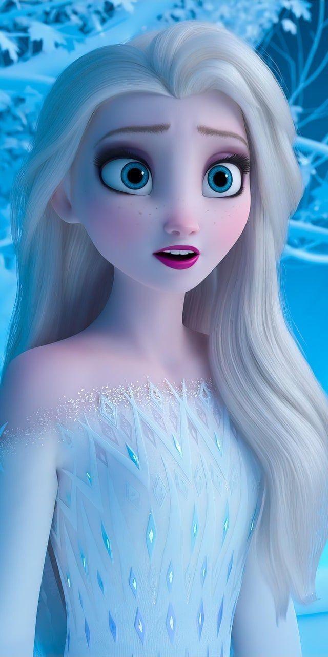 3D customize Frozen2 Elsa&Anna duvet cover