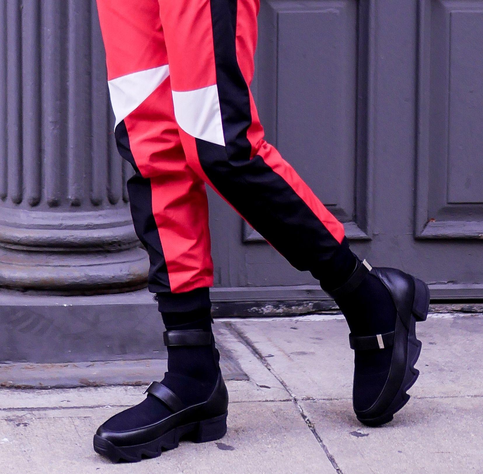 9b2f185f4f6 Black Sock Sneaker Available at www.irinyc.com 📷  OOTNMAGAZINE  iri  irinyc