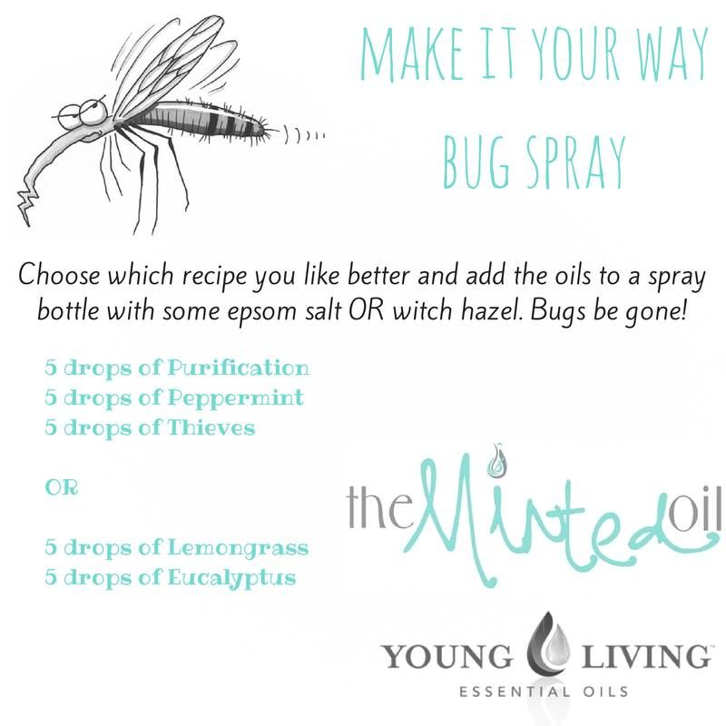 Is it bug season? There is nothing worse than trying to enjoy the beautiful outdoors and being swarmed and annoyed with buys....mosquitos none the less. Well no worries, Young Living Essential Oils to the rescue! Try this little concoction!