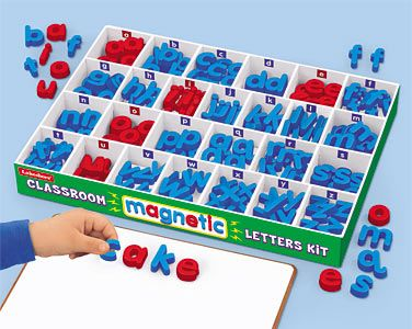 Classroom Magnetic Letters Kit At Lakeshore Learning Alternative To
