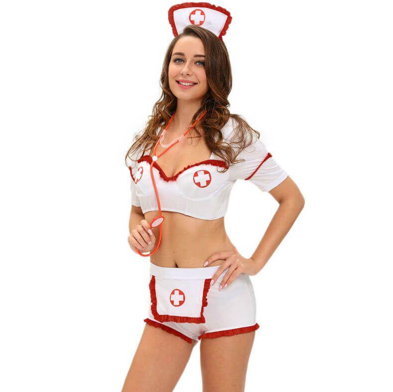 Disfraz enfermera sexy 3 pcs queen costume ce22309d8f9b