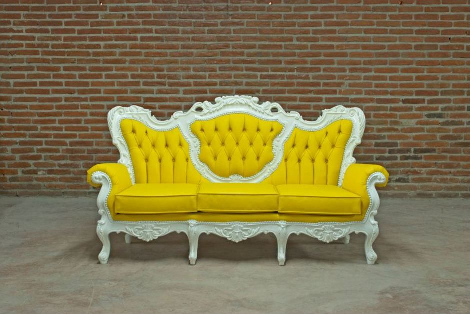 Modern Colorful Victorian Style Furniture Collection By POLaRT