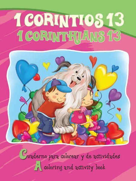 Cuaderno Para Colorear 1 De Corintios 13 Versiculos Originales De