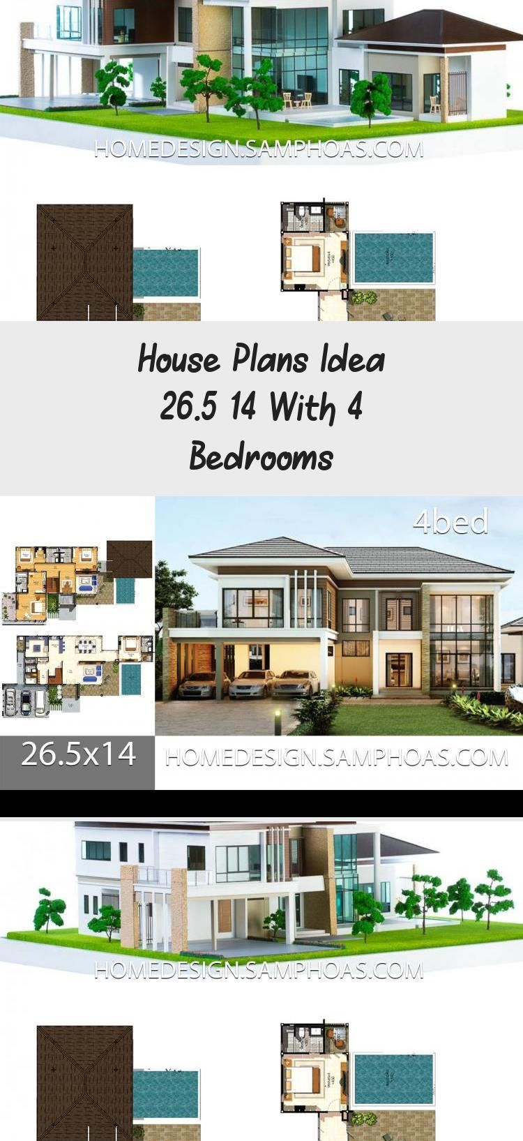 House Plans Idea 26 5 14 With 4 Bedrooms Erin S Blog In 2020 Luxury House Designs House Plans Luxury Houses Mansions