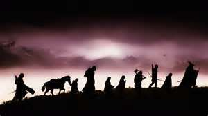 Lord Of The Rings Fellowship Ring Silhouettes Celebrity Lord Of