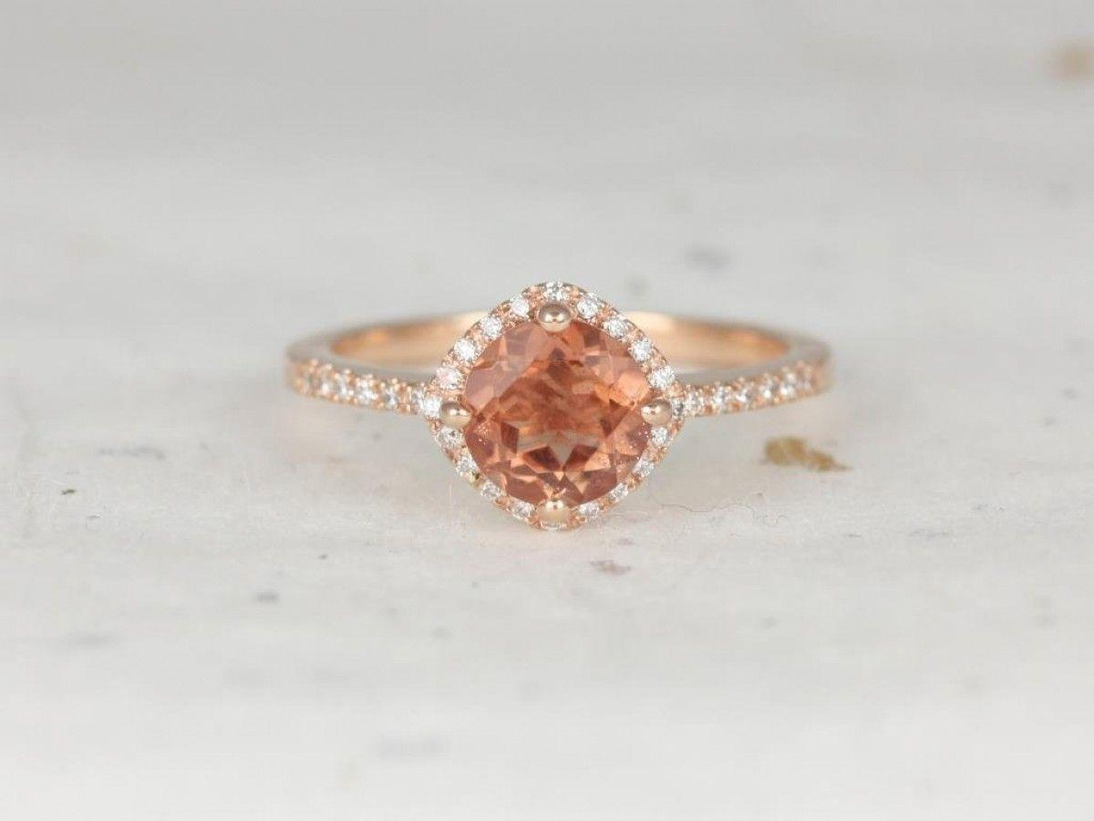 071c5db522033 Rosados Box Kitana 7mm 14kt Rose Gold Round Sunstone Diamonds ...