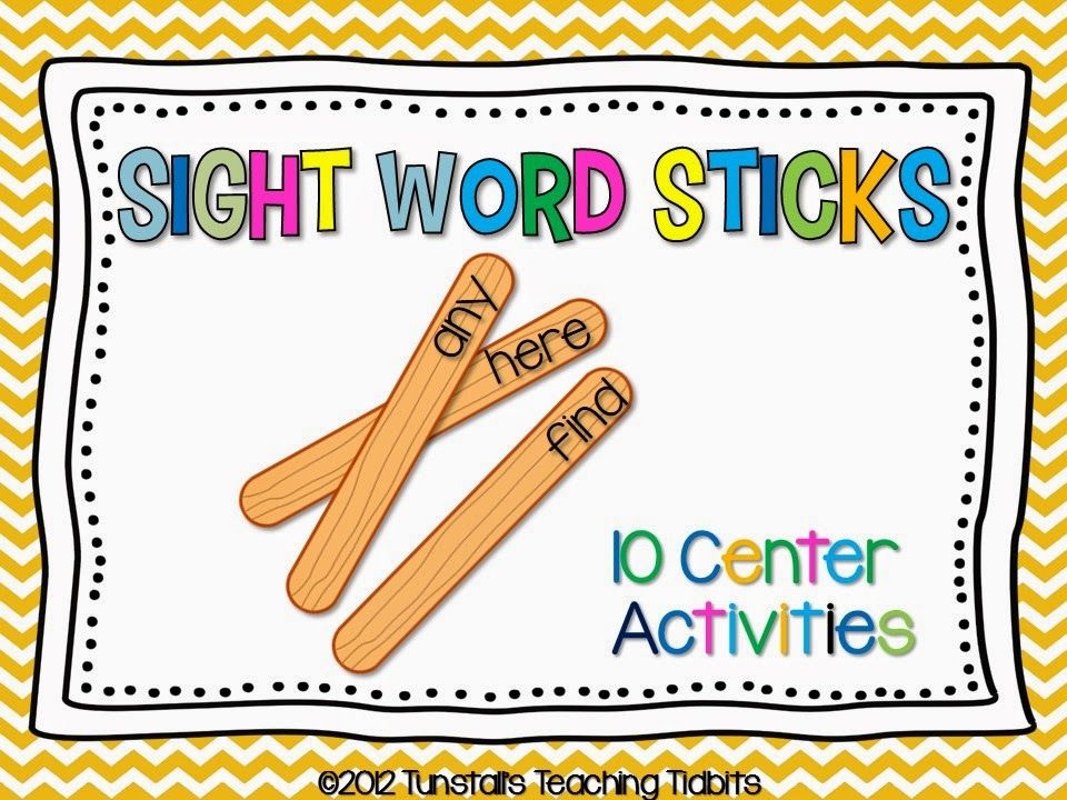 how to use pop sticks in first grade