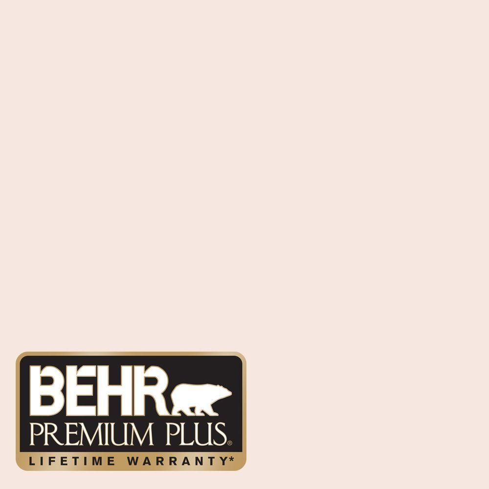 Behr Premium Plus 5 Gal Rd W03 My Sweetheart Flat Exterior Paint And Primer In One 405005 The Home Depot Pink Paint Colors Exterior Paint Colors For House Paint Colors For Home
