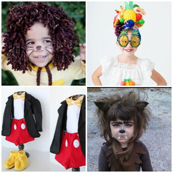 4 Disfraces De Halloween Caseros Para Niños Halloween Disfraces Disfraces Caseros Disfraces