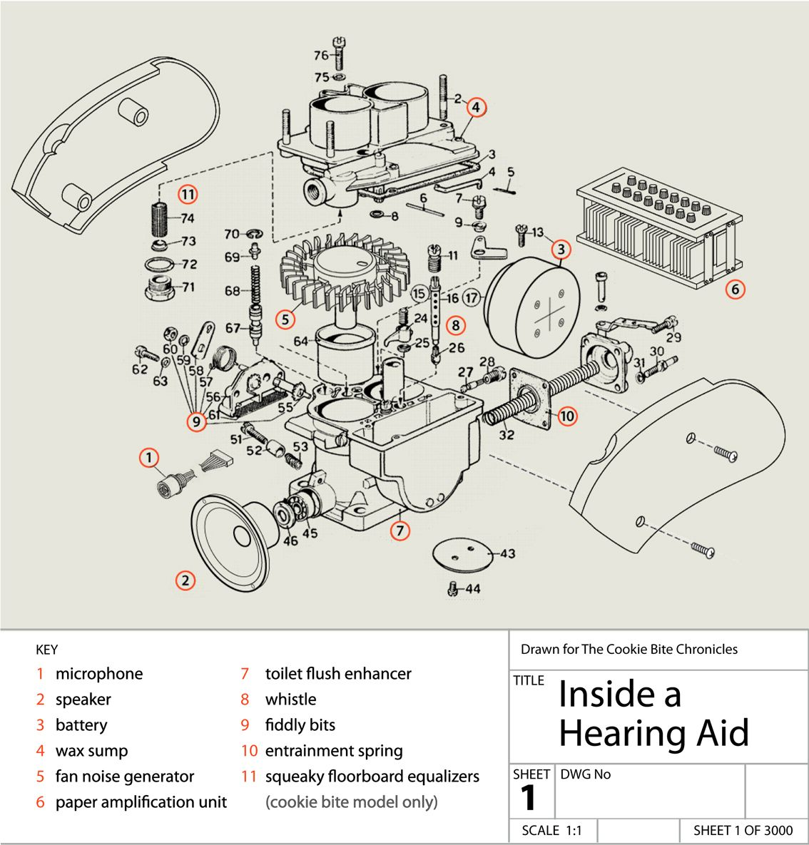 Behind The Ear Diagram Labeled Motte And Bailey Castle Anatomy Of A Hearing Aid Pinterest Aids Sign
