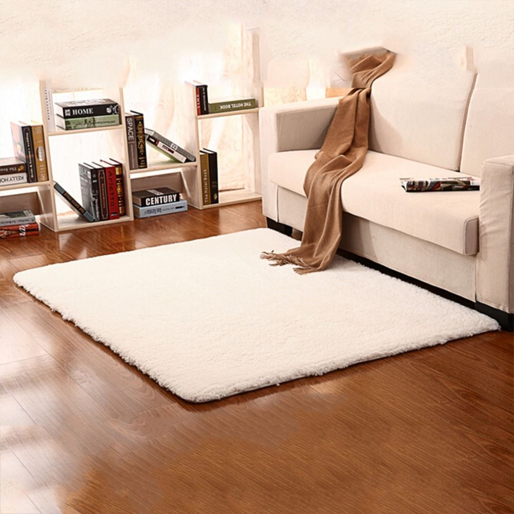 160 225cm Extra Large Modern Plain 5cm Gy Rugs Thick Pile Area Rug Mats