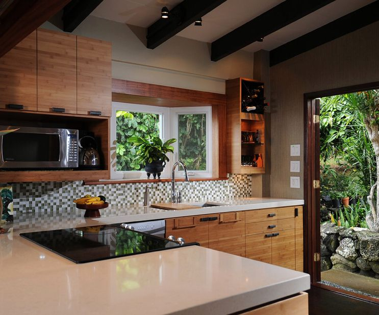 Tropical Kitchen Little Kitchen Zen Kitchen Zen Style Cabinet Styles Kitchen & Pin by opor on tips rooms | Pinterest | Zen kitchen Kitchen and ...