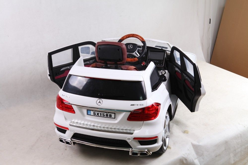 New licensed mercedes benz gl63 ride on car baby remote for Mercedes benz toy car ride on