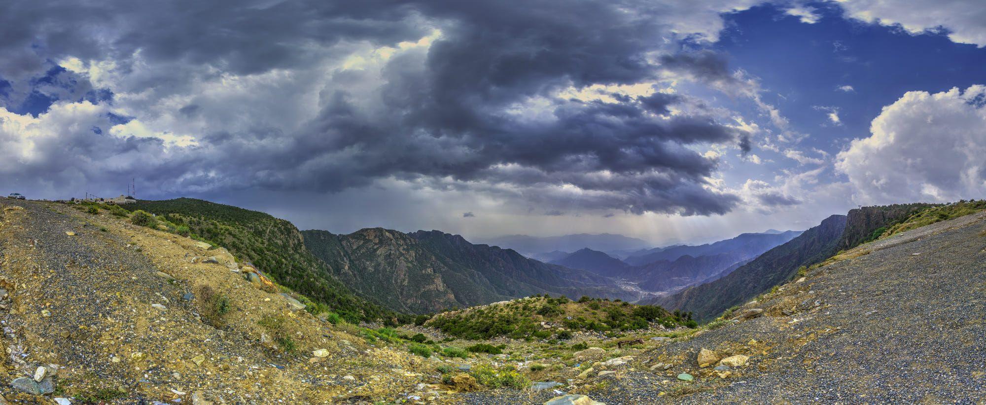HDR 360 panorama from Abha Natural landmarks, Panorama