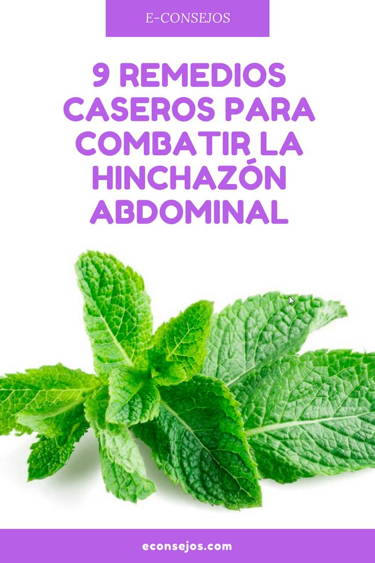 medicina para la hinchazon abdominal