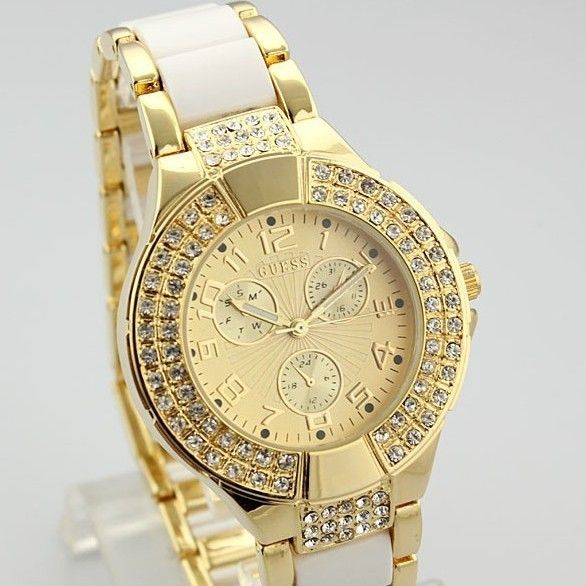 bcc1fa9b352 Relogio Feminino Fashion Silver Golden Stainless Steel Strap Watches Men  Luxury Brand New Design Women Wristwatches Atmos Clock-in Wristwatches from  Watches ...