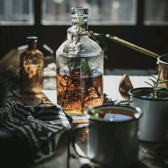 Potions And Tinctures And Teas, Oh My! Witches Know How To