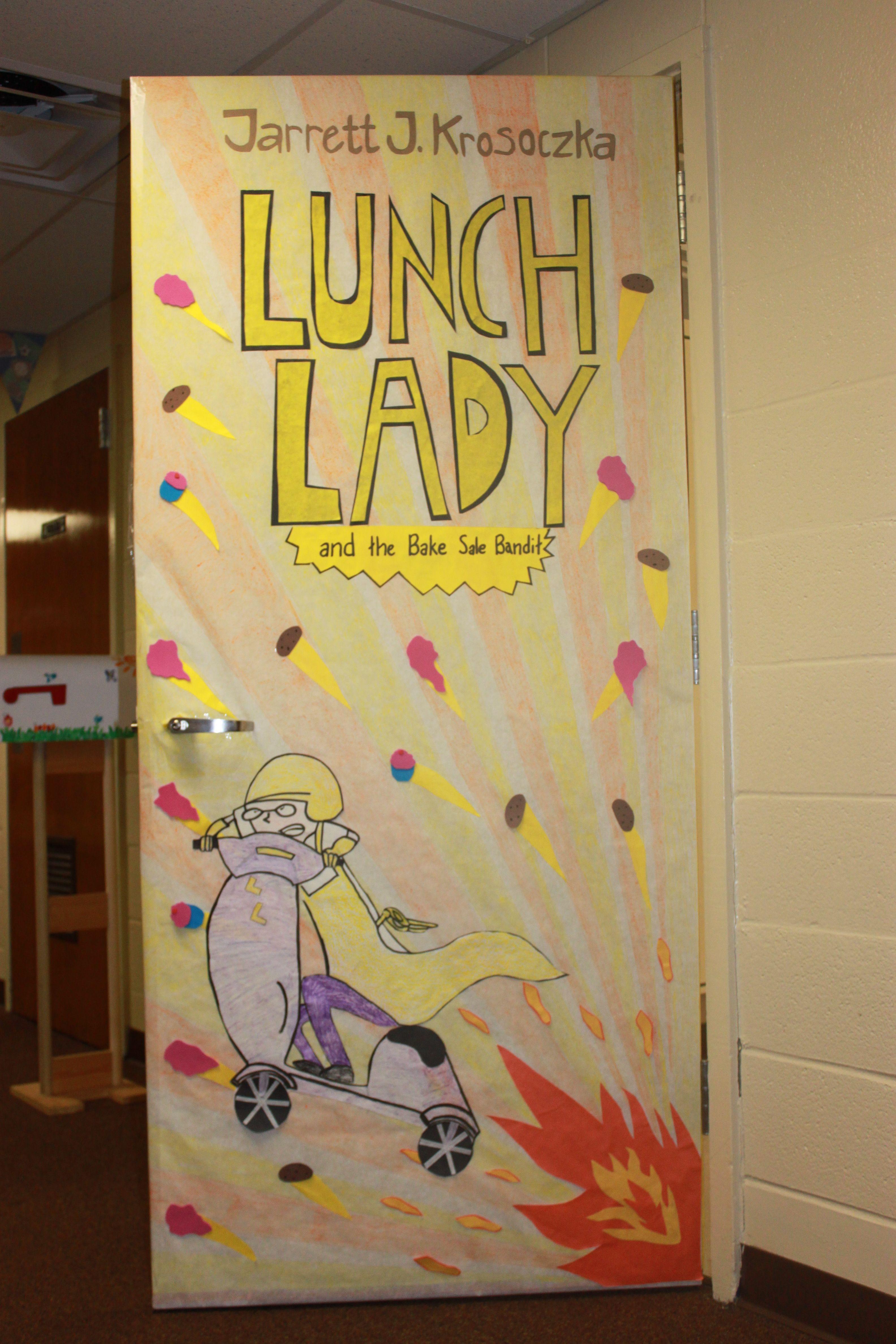 Cary Woods Elementary Read Across America Classroom Door