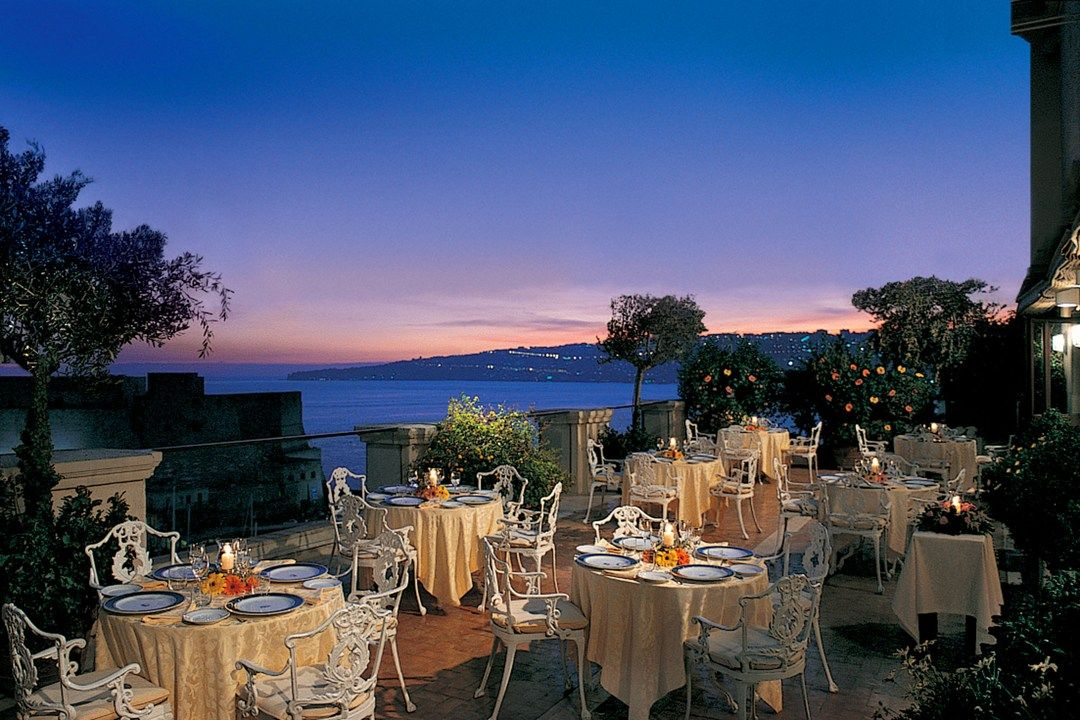 LA TERRAZZA, HOTEL EXCELSIOR, NAPLES | Roof Top Bars Around The ...