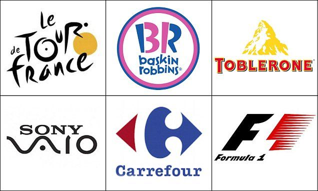 Can YOU spot the messages hidden in these logos? Global brands - fedex jobs