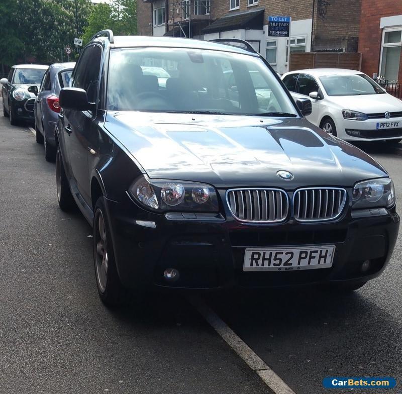 Car For Sale: 2005 BMW X3 2.0D M SPORT BLACK