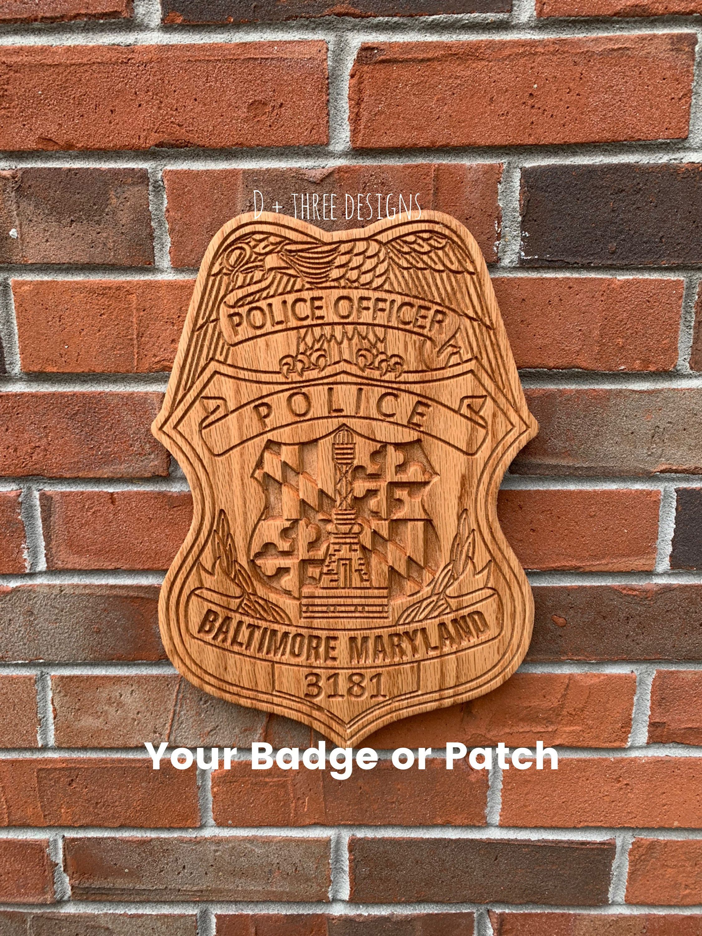 personalized police retirement gifts