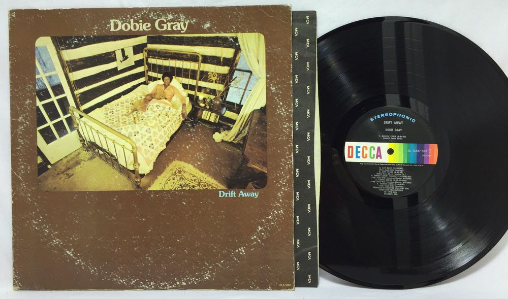 Dobie Gray Drift Away Lp Us 1st Pressing Funk Disco Vinyl Record Album Vg Vinyl Records Vinyl Record Album Record Album