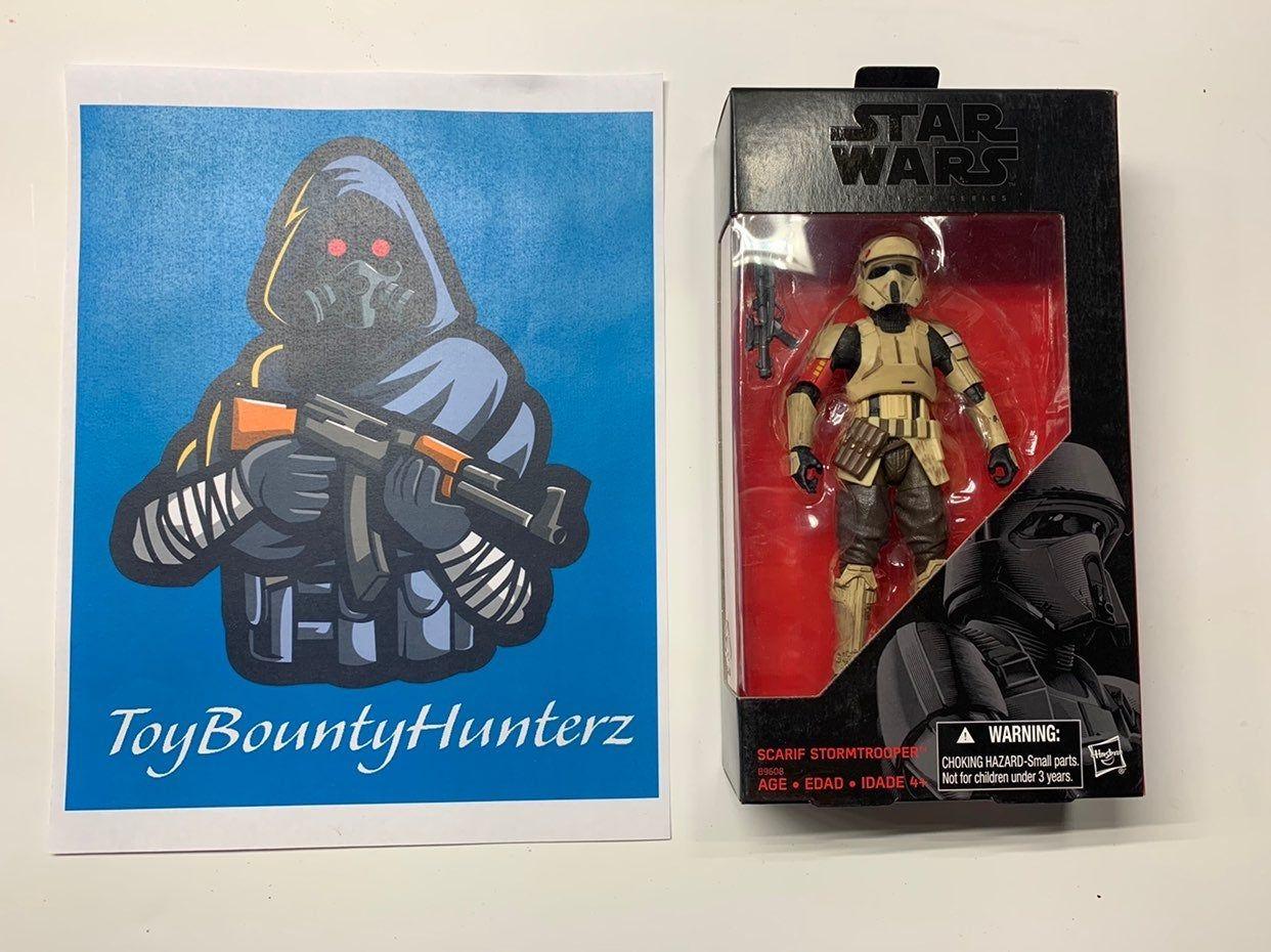 "Star Wars Black Series 2016 Scarif StormTrooper 6"" Action"